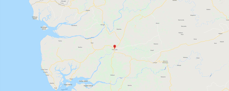 localisation de ethnie Loko