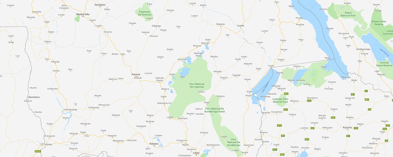 localisation de ethnie Luba / Baluba