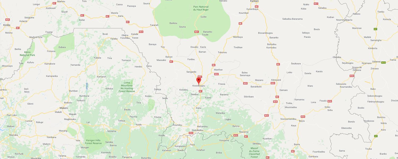 localisation de ethnie Koranko / Kuranko