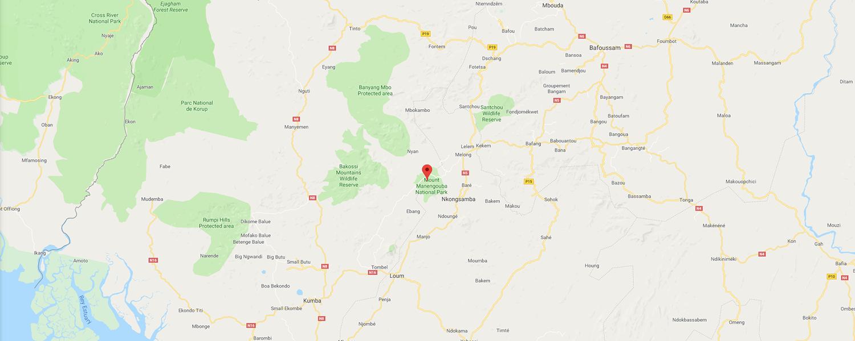 localisation de ethnie Bamiléké