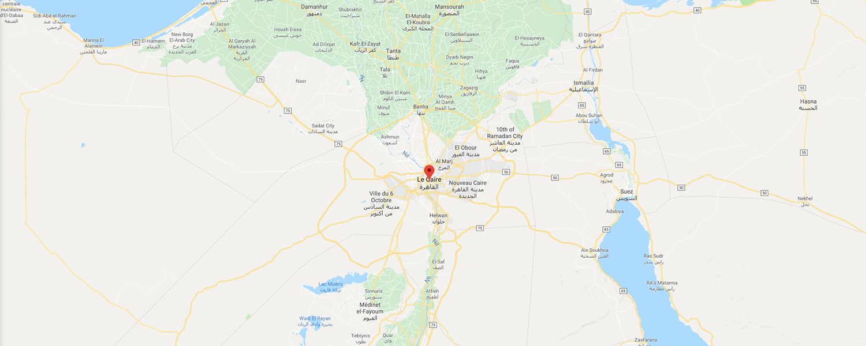 localisation de ethnie Copte (religion)
