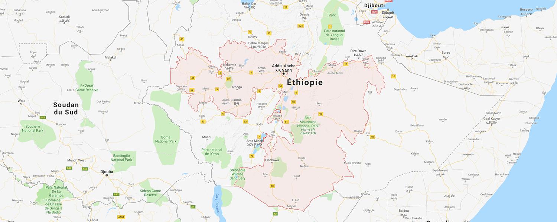 localisation de ethnie Oromo / Oroma
