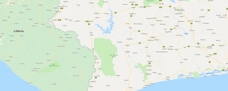 localisation de ethnie Oubi / Ubi