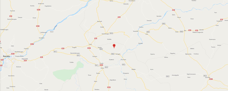 localisation de ethnie Bankoni / Région de