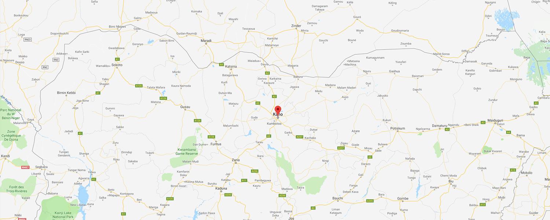 localisation de ethnie Igbo / Ibo