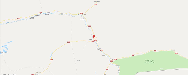 localisation de ethnie Bozo / Sorko