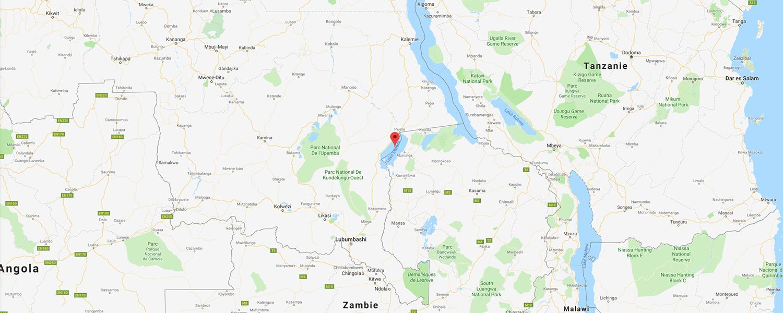 localisation de ethnie Hemba / Emba