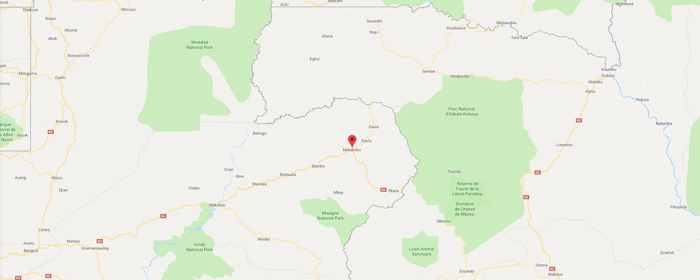 localisation de ethnie Mahongwe / Hongwe